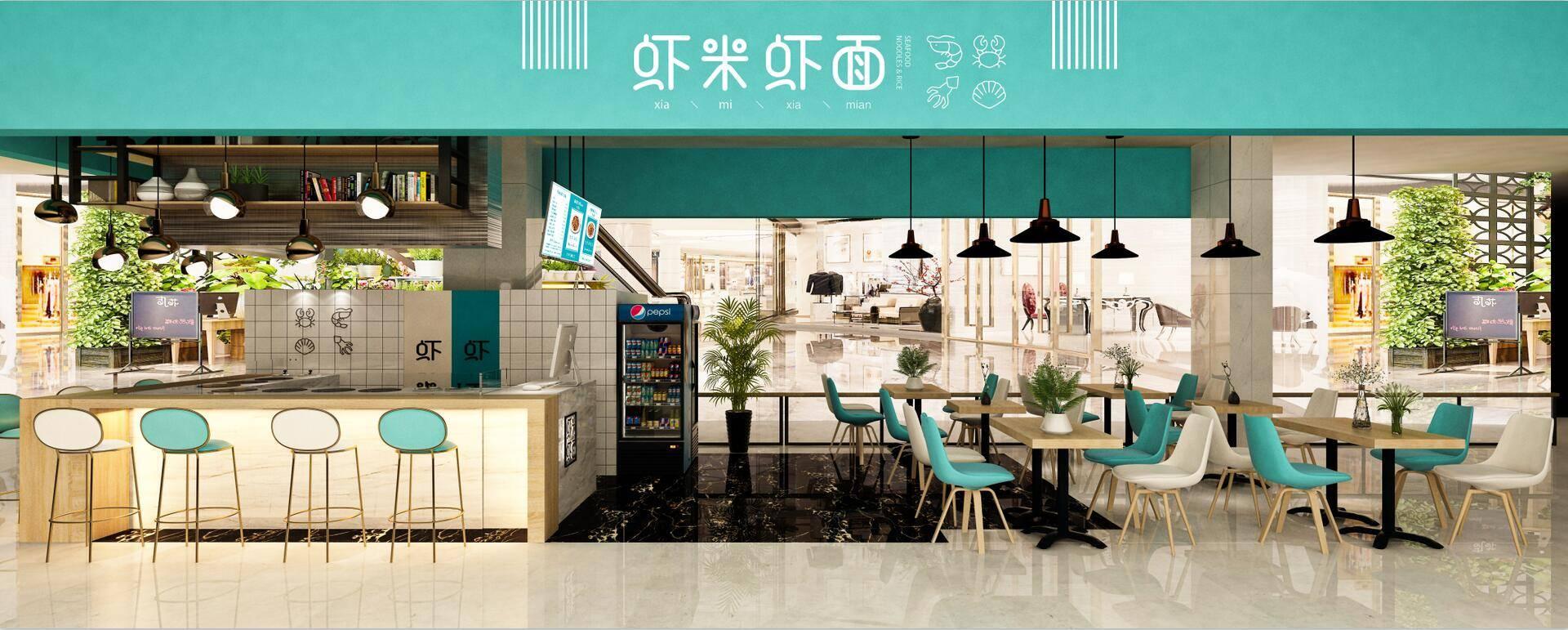 虾米虾面阜阳的海鲜焖面旗舰店实拍图