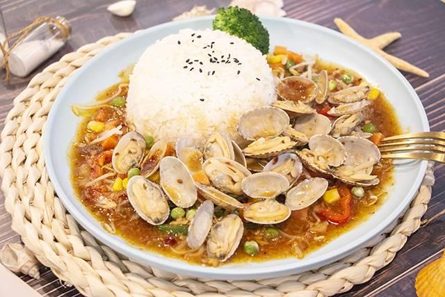 虾面虾面招牌——海鲜焖面之五鲜俱全饭